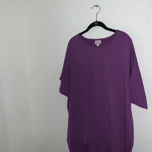 LULAROE - Purple Irma Top